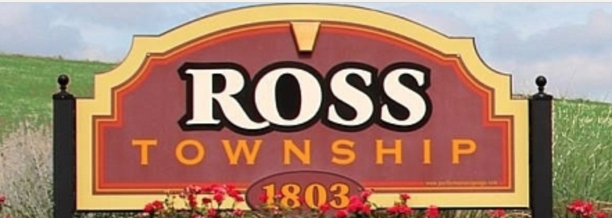 Ross Township 1803 community sign